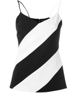 David Koma   Diagonal Striped Vest