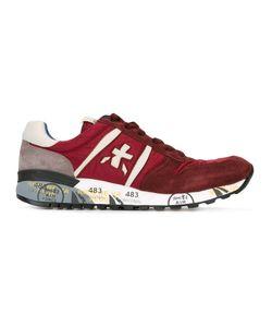 PREMIATA WHITE | Lucy Sneakers 42 Leather/Suede/Nylon/Rubber