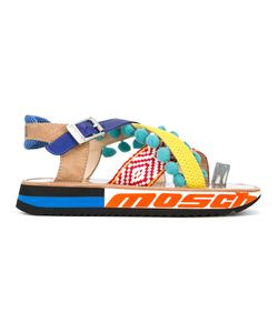 Moschino | Strappy Platform Sandals Size 39