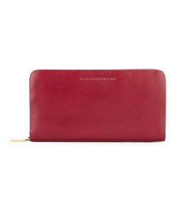Tammy & Benjamin | Embossed Logo Wallet Leather/Polyester