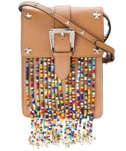Red Valentino | Studded Bead Detail Crossbody Bag