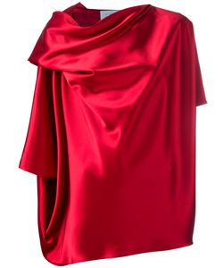 Gianluca Capannolo | Draped Blouse 44 Triacetate/Polyester