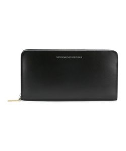Tammy & Benjamin | Logo Plaque Wallet Leather/Polyester