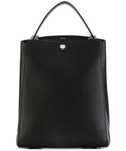 Valextra | Top Handle Structured Backpack