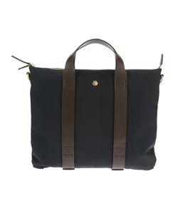 Mismo | Contrast Strap Briefcase Leather/Nylon