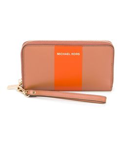 Michael Michael Kors | Stripe Zip Around Wallet