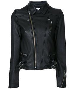 LE CIEL BLEU | Wash Leather Riders Jacket Size