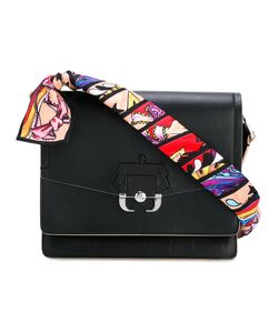 Paula Cademartori | Printed Strap Shoulder Bag Lamb