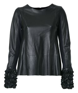 Andrea Bogosian | Leather Top Size P