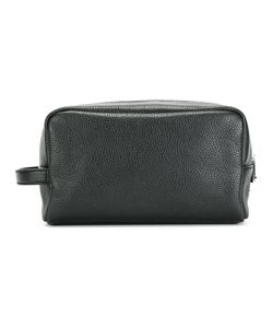 Dolce & Gabbana | Pebble Leather Wash Bag Leather