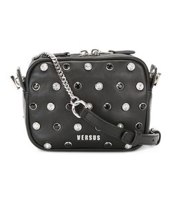 Versus | Lion Head Stud Crossbody Bag Lamb Skin