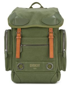 Givenchy | Logo Print Military Backpack Cotton/Polyurethane