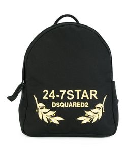 Dsquared2 | 24-7 Star Logo Backpack Calf Leather/Cotton/Polyester