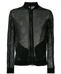 SALVATORE SANTORO | Куртка-Бомбер С Тисненой Отделкой