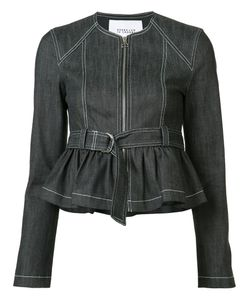 Derek Lam 10 Crosby | Belted Denim Jacket Size 4