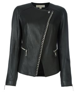 Michael Michael Kors | Asymmetric Chain Trim Jacket 6