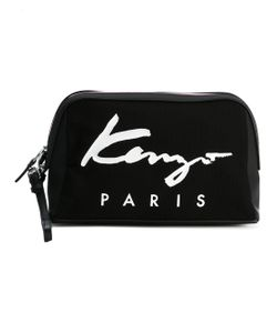 Kenzo | Canvas Logo Pouch Clutch Bag