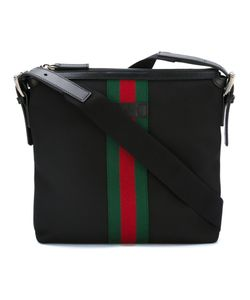 Gucci | Techno Messenger Bag Polyester/Cotton/Leather