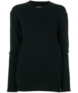 Y / PROJECT | Ribbed Sleeves Jumper Women