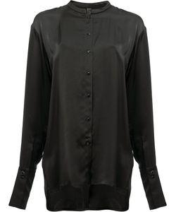 Ilaria Nistri   Collarless Shirt 42 Viscose