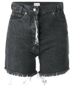 Magda Butrym | Frayed Denim Shorts Size 38