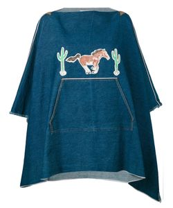ERMANNO GALLAMINI | Patch Detail Poncho