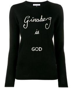 Bella Freud   Ginsberg Is God Sweater Large Wool