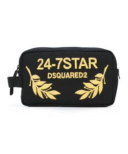Dsquared2 | 24-7 Star Logo Wash Bag Cotton/Polyester