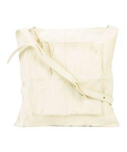MA+   Ma Geometric Front Shoulder Bag