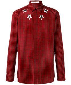 Givenchy   Checked Star Shirt 45 Cotton