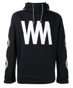 White Mountaineering | Initial Print Hoodie