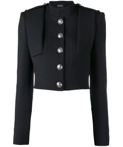 Alexander McQueen | Cropped Military Jacket