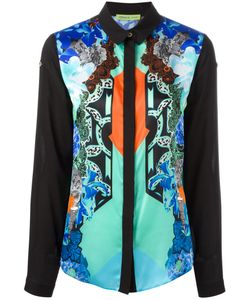 Versace Jeans | Printed Panel Shirt 44 Viscose/Silk