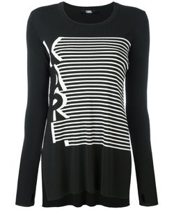 Karl Lagerfeld | Striped Top