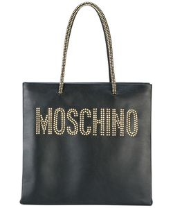 Moschino | Studded Logo Shopper Tote