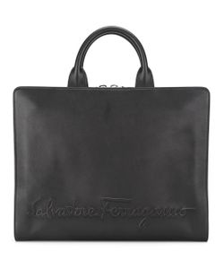 Salvatore Ferragamo | Embossed Logo Briefcase