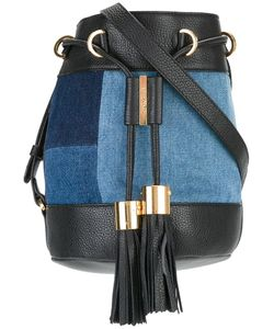See By Chloe | See By Chloé Denim Patchwork Bucket Shoulder Bag Cotton/Leather