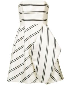Halston Heritage | Striped Party Dress