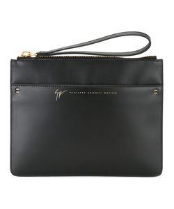 Giuseppe Zanotti Design   Wrist Strap Clutch Calf Leather