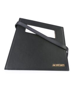 JACQUEMUS | Angled Logo Plaque Clutch