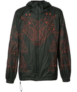 MARCELO BURLON COUNTY OF MILAN | Graphic-Print Wind Breaker Large
