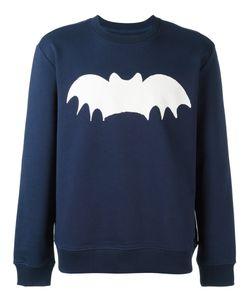 Zoe Karssen   Bat Print Sweatshirt Medium Cotton