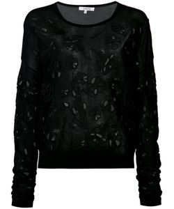 Dorothee Schumacher | Cut Out Embroidered Jumper 3