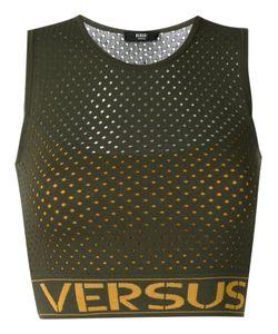 Versus | Logo Print Net Top Size 44