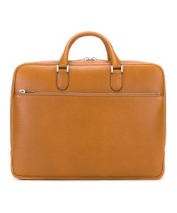 Valextra | Double Handle Brief Case