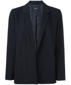 A.P.C. | Patch Pocket Blazer 40 Cotton/Polyamide/Viscose/Cupro