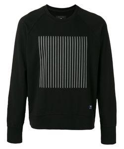 Rag & Bone | Striped Block Print Sweatshirt