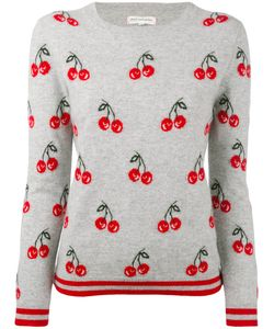Chinti And Parker | Cashmere All-Over Cherry Sweater