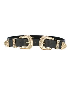 B-Low The Belt | Double Buckle Belt Womens Size Medium Leather