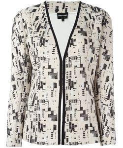 Giorgio Armani | Embroidery Detail Blazer 44 Cotton/Viscose/Silk
